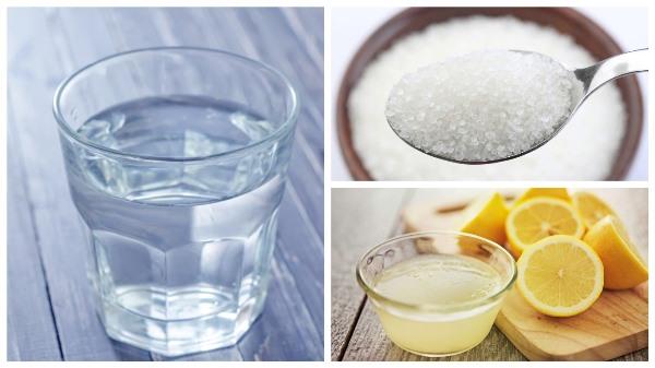 ингредиенты для приготовления сиропа