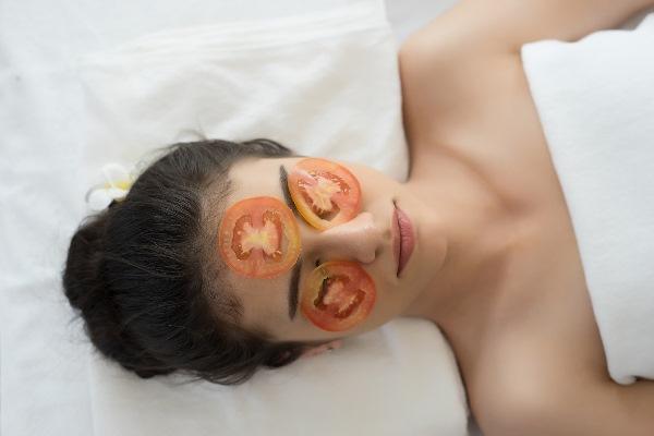 маска для лица из помидоров